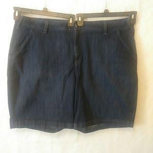 Lane Bryant Bermuda Jean Shorts